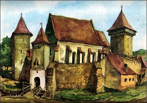 Waldhüttener Kirchenburg